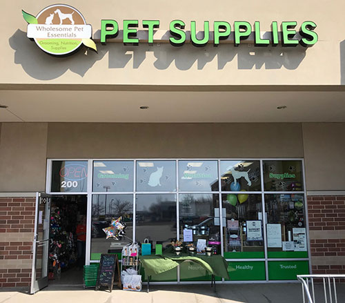 Wholesome Pet Essentials Storefront
